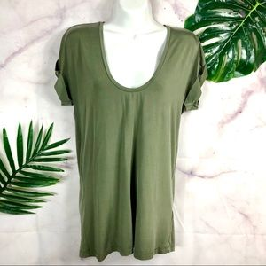 Stockholm Atelier & Other Stories Olive Green Top